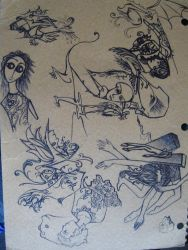 notebook cover by willowleaf