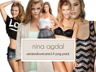 Nina Agdal PNG Pack by WeAreAHurricane14