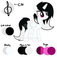 {Main Oc reference} by 0Flare0
