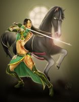 Mulan: Dynasty Warrior by steevinlove