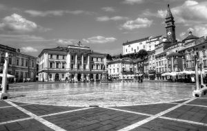 Piran - Tartini Square by pingallery