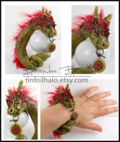 Jade Serpent Cuff by TinfoilHalo