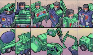 The Constructicons by J-Rayner