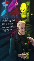 Drugs and Wires Fan Art by C130