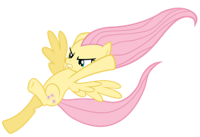 Fluttershy Kicks Ass by MisterLolrus