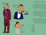 Cornelius Andre (Reference Sheet) by tikustido