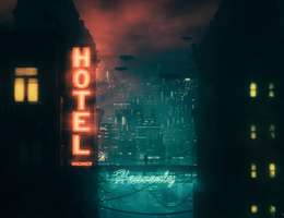 Heavenly Hotel by Ivw115
