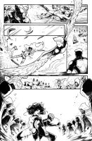 ALL NEW X-MEN PAGE TEST #03 by Nezotholem