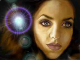 Portrait of Deena Marie by jantheempress