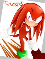 Sonic : KNUCKLES by Cha0zGallAnT