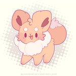 normal type, eevee! by plushpon