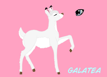 Galatea|Bambi OC/FC by LucijaTheGreat2