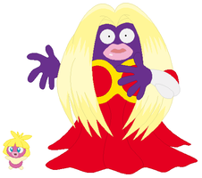 Smoochum and Jynx Base