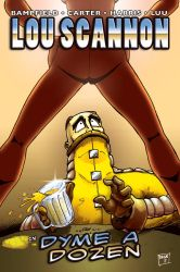 Lou Scannon Issue 2 - Cover 1 by Drivaaar
