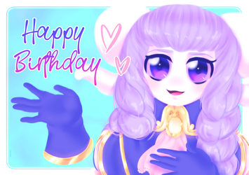 [Gift] Erodravelle wishes you a happy birthday ~ by Dannaria