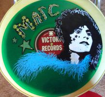 Marc Bolan on Vinyl by modastrid