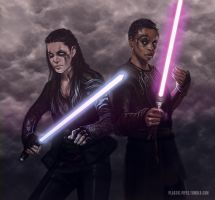 The 100 Star Wars by plastic-pipes