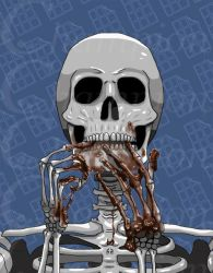 Skeleton - Melted Chocolate by Championx91