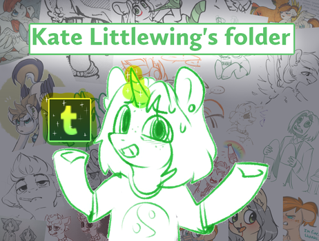 ~[INFO] Tumblr blog for sketches~ by Kate-Littlewing