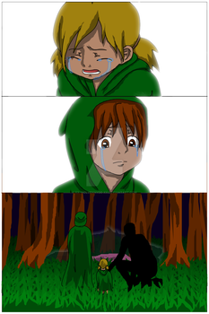 Legend of Krea The Chosen of Penta+Shen Prologue 2 by IsellaHowler