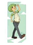 OP : carefree by ChocOlive-Flamous