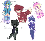 leftover adopts sale OTA OPEN by viixens