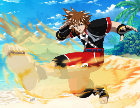 Commission: Street Fighter Sora by R-Legend