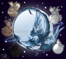 Animal planet: Uranus by Shivita