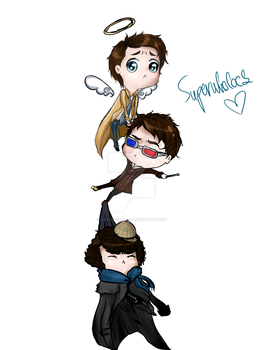 Superwholock by xDearDeathx