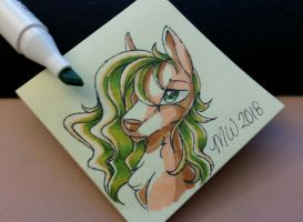 That hair tho. by Mychelle