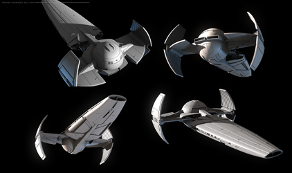 Sith Infiltrator model demo by Enterprise-E