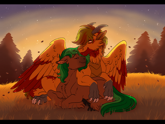 Comm: Autumn by Lopoddity