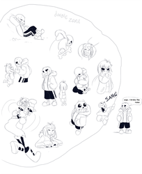 Undertale - Doodling by TC-96