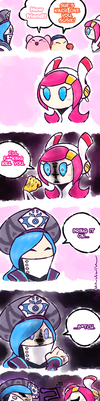 Kirby_There can be only one by Chivi-chivik