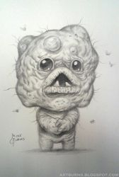 Mulligan from The Binding of Isaac: Rebirth by FlammablePerson