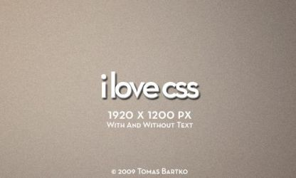 I Love CSS by optiv-flatworms