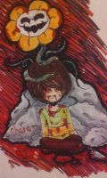 Your Best Friend (Chara + Flowey ~ post-Genocide) by LadyLilith17