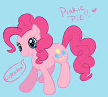 pinkie pie doodle by Swotsy