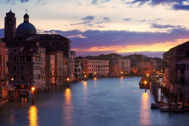 Sunset from Ponte degli Scalzi by LinsenSchuss