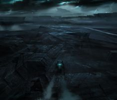 Tron Legacy to the safe house by vyle-art