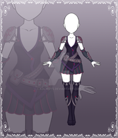 [Close] Adoptable Outfit Auction 106 by Kolmoys