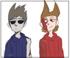 Sketchy Sketch [Tom  Tord] by CrazeyMC