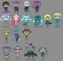 Voltron: Legendary Defender Season 2 Pops Vinyls by Zephyros-Phoenix