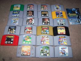 My VG collection part 4: N64 by StSubZero