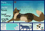 |Your reality| UrchinWhisker Ref Sheet