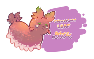 [Closed] DTA! Crunchy Leaf by toripng