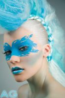 Mohawk Woman2 by Whimsical-Fairytales