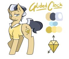 Glided Clock by Joint-ParodiCa