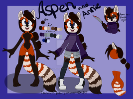 Aspen (and Annie) Reference Sheet by CourtneyCat101