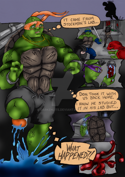 Halloween Turtle page 1 by Darkenlite